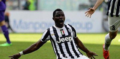 Juventus Asamoah'ı tutuyor!