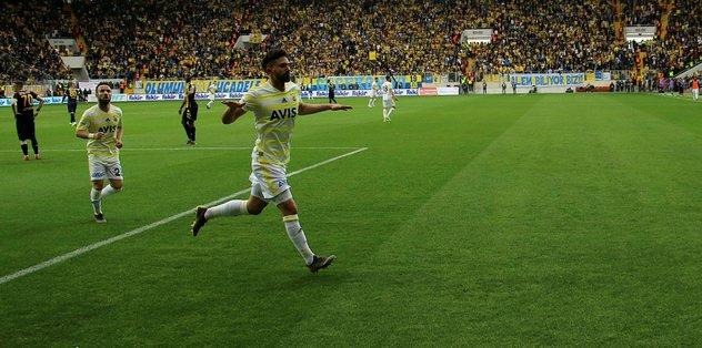 Fenerbahçe deplasmanda gol fakiri