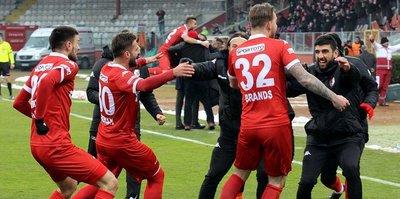 Samsunspor 8 maç sonra