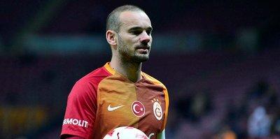 Sneijder, Cimbom'a aşık