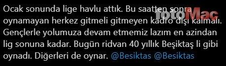 Genç yıldız adayı mest etti! ''40 yıllık Beşiktaşlı gibi''