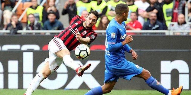 Hakan attı, Milan kazandı!