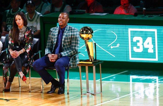 Boston Celtics, Paul Pierce'in formasını emekli etti