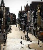 Avrupa sessizliğe gömüldü! Sokaklar bomboş