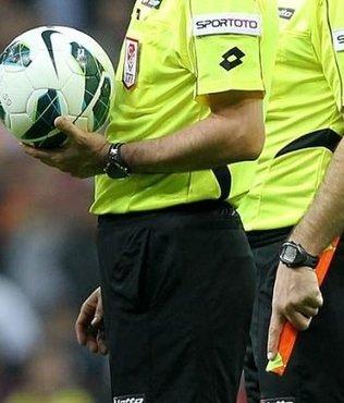 Spor Toto Süper Lig'de 5 karşılaşmada görev yapacak hakemler belli oldu!