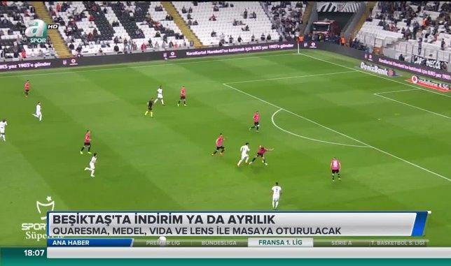 Beşiktaş'ta indirim ya da ayrılık