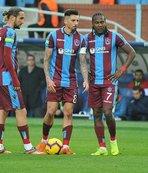 Trabzonspor Beşiktaş'a karşı üstün