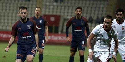 Başakşehir, Kahramanmaraşspor'u ağırlıyor
