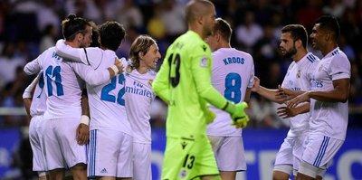 Real Madrid, Deportivo'yu farklı geçti