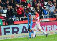 Antalyaspor - Trabzonspor maçından kareler