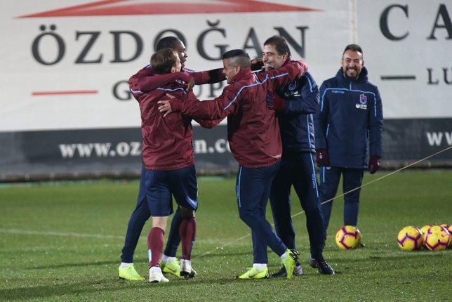 Trabzonspor'dan fırtına gibi kamp!