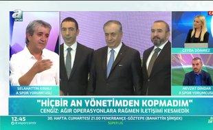 """""""Cengiz'in sözlerinin bir ucu Fatih Terim'e de dokunuyor"""""""