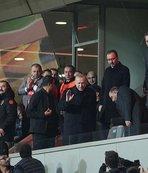 Başkan Erdoğan Başakşehir-Roma maçını izledi