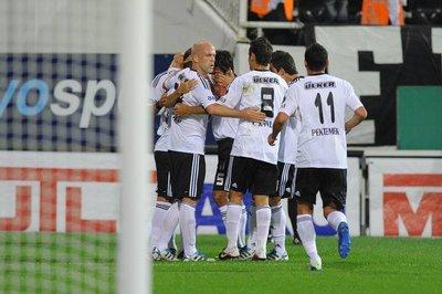 Beşiktaş 1-0 Medical P. Antalyaspor