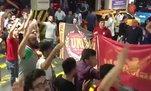 Galatasaray taraftarından Fatih Terim'e destek
