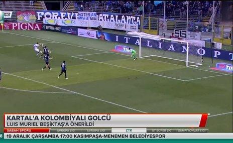 Kartal'a Kolombiyalı golcü