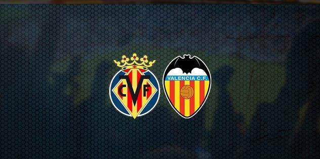 Villarreal-Valencia maçı ne zaman? Saat kaçta? Hangi kanalda canlı yayınlanacak? - Futbol -