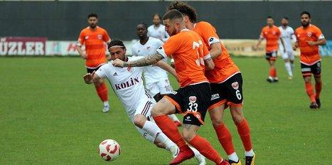 Gol düellosunun galibi Adanaspor!
