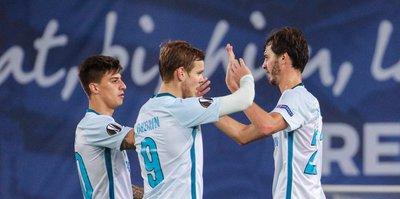 Avrupa Ligi'nde en golcü Zenit