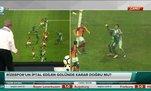 Rizespor'un iptal edilen golünde karar doğru mu?
