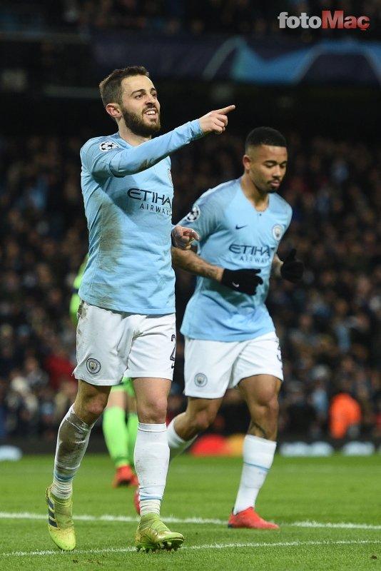 Manchester City - Schalke 04 maçından kareler