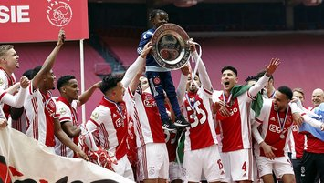 Ajax crowned champion of Dutch top-tier football league