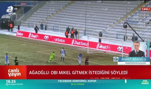 Ahmet Ağaoğlu Mikel ile arasındaki geçen konuşmayı anlattı!