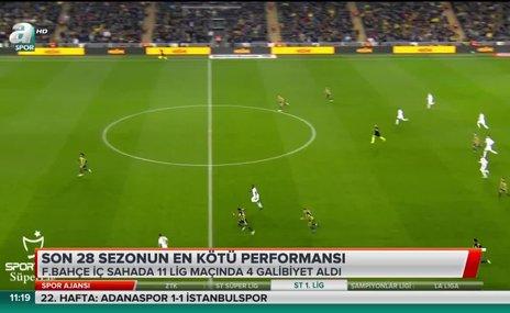 Fenerbahçe iç sahada kayıp