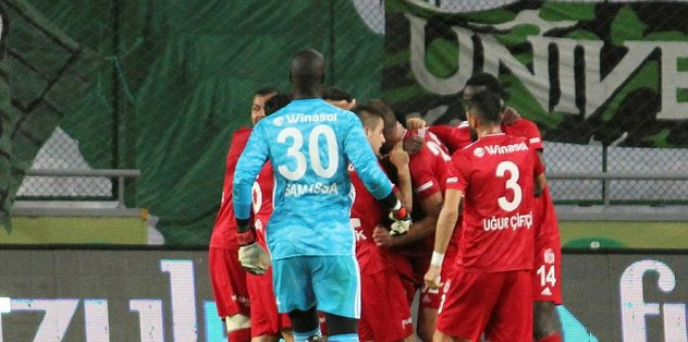 Konyaspor 2-2 Sivasspor | MAÇ SONUCU - Euroleague -