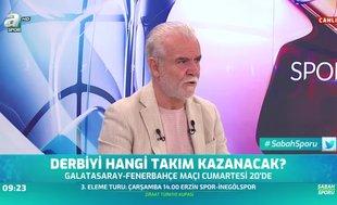 Turgay Demir'den Galatasaray-Fenerbahçe derbisi tahimini