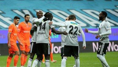 Beşiktaş Başakşehir: 3-2 (MAÇ SONUCU - ÖZET)