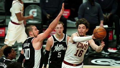 Cedi Osman'ın 20 sayısı galibiyete yetmedi! Clippers 128-111 Cavaliers   MAÇ SONUCU
