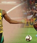 Usain Bolt'u bile geçti! Brezilyalı oyuncu 38 kilometre hıza ulaştı