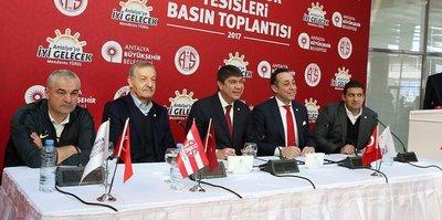 Antalyaspor tesislerine kavuştu