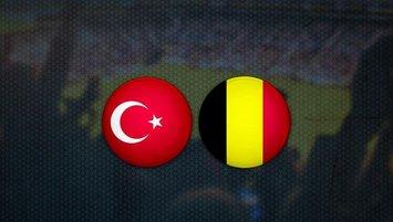 Türkiye - Belçika maçı saat kaçta ve hangi kanalda?