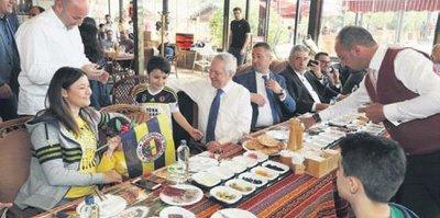 Sivas'ta kahvaltı keyifi
