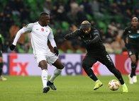 Krasnodar - Akhisarspor maçından kareler...