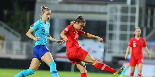MAÇ SONUCU Türkiye 0-8 Hollanda ÖZET