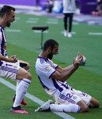 Real Valladolid son anlarda güldü!