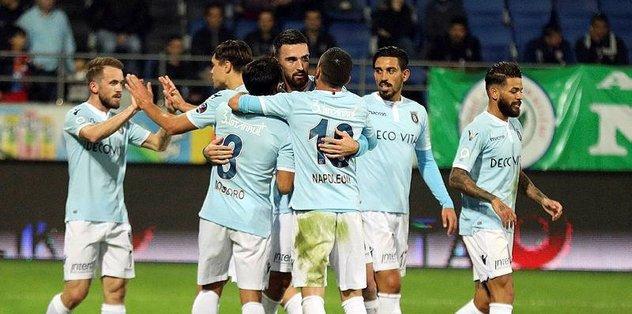 Medipol Başakşehir Çaykur Rizespor maçı hazırlıklarını sürdürdü