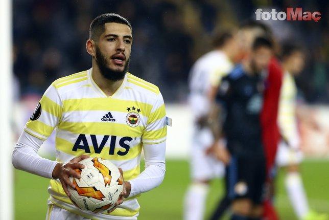 Fenerbahçe'de kadro dışı olan Yassine Benzia'ya talip çıktı