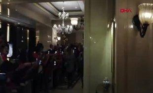 Liverpool'a otel içinde coşkulu karşılama