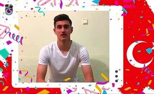 Trabzonsporlu futbolculardan 23 Nisan mesajı