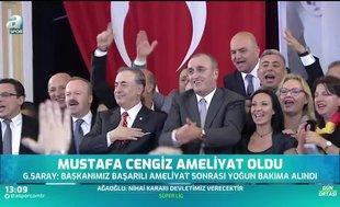 Mustafa Cengiz ameliyat oldu