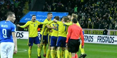 Sweden eliminates Italy to reach World Cup 2018