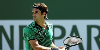 Federer, Indian Wells'te finalde