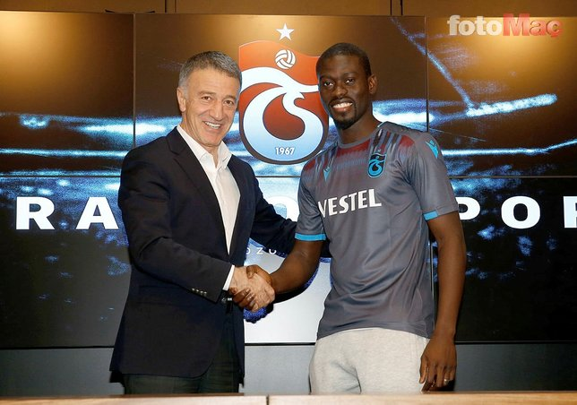 Trabzonspor'a Ada'dan transfer! Gomis de devrede