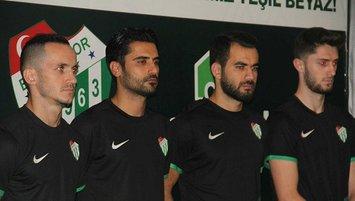 Bursaspor yeni oyuncularını tanıttı