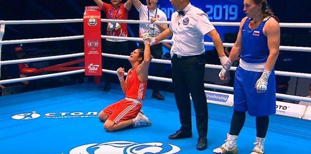 Busenaz Sürmeneli ve Elif Güneri boks şampiyonasında finale çıktı