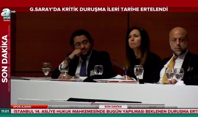 Galatasaray'da kritik duruşma ileri tarihe ertelendi